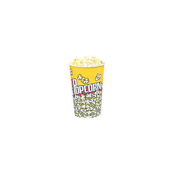 Snappy Popcorn Yellow Popcorn Cups (Set of 25)