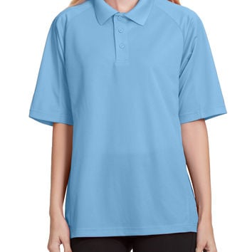 LE3NO PREMIUM Womens Performance Short Sleeve Golf Polo Shirt