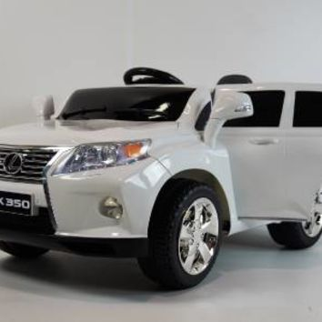New 2015 Lexus RX350 12V Kids Ride On Power Wheels Battery Car Toy -White