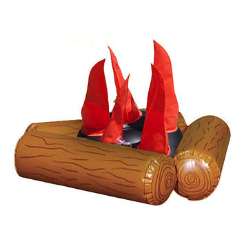 Inflatable Campfire & Pit Set   zulily