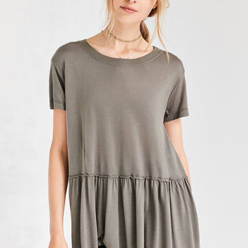 Truly Madly Deeply Dusty Road Peplum Tee | Urban Outfitters