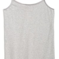 Girl's Tucker + Tate Heathered Long Camisole