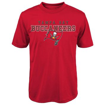 Tampa Bay Buccaneers Fulcrum Performance Tee - Boys 8-20, Size: