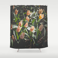 Spring Mood Shower Curtain by Katerina Lesslerova