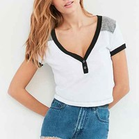 Truly Madly Deeply Tori Henley Ringer Tee