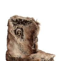 'Cole' Faux Fur Slipper Boot (Women)