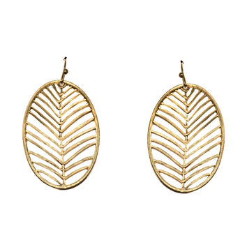 Desert Palm Earrings