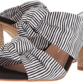 Women's Dolce Vita Jene Fabric Heeled Slides