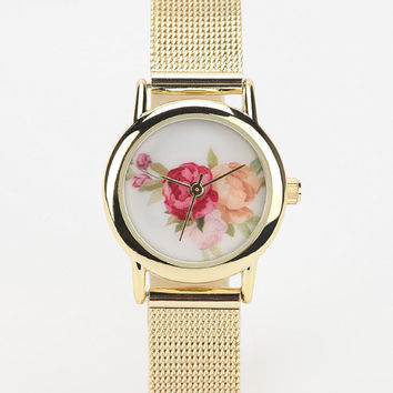 Urban Outfitters - Rose Mesh Watch