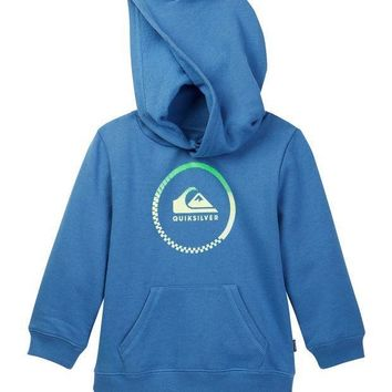 Quiksilver | Active Check Pullover Hoodie (Toddler Boys)