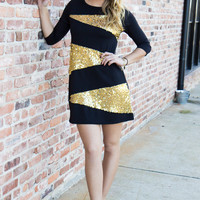 Gold Rush Dress - Final Sale