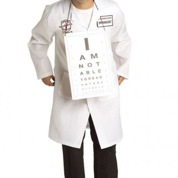 Dr. Seymour Clearly Ophthalmologist Adult Costume