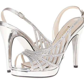 E! Live from the Red Carpet E0045 Silver Satin - Zappos.com Free Shipping BOTH Ways