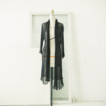 Long Knit Duster/Sweater (Vintage)