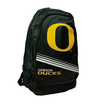 Oregon Ducks Official NCAA Stripe Core Backpack by Forever Collectibles 054424