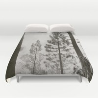 Into the woods VIII Duvet Cover by Guido Montañés