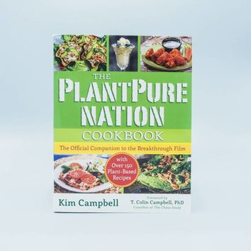 The PlantPure Nation Cookbook by Kim Campbell - The Herbivore Clothing Co.