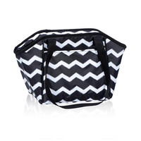 Lunch Break Thermal in Black Chevron | Thirty-One Gifts