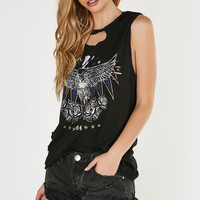 Soar High Oversized Muscle Tank