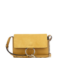 Faye small suede and leather shoulder bag | Chloé | MATCHESFASHION.COM US