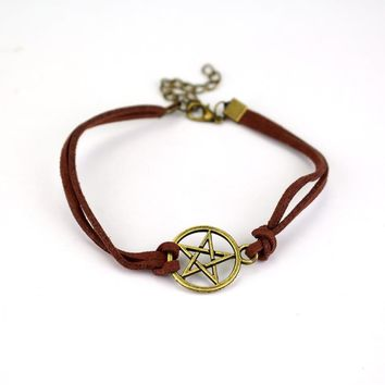 Supernatural Bracelets for Women Rope Wristbands TV Jewelry Bracelet Gifts
