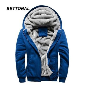 BETTONAL Thick Velvet Jacket