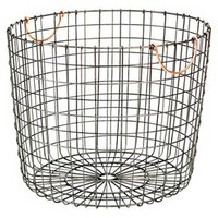 Extra Large Round Wire Decorative Storage Bin - ... : Target