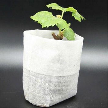Nursery Pots Seedling-Raising Bags Environmental non-woven fabrics Garden Supplies Garden Supplies  100 pcs