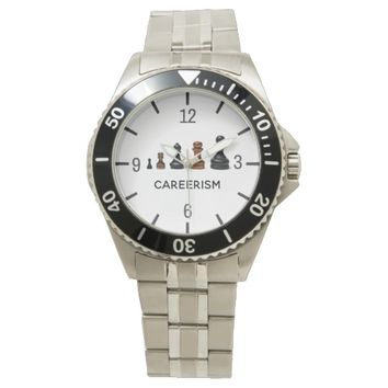 Careerism funny customizable watch