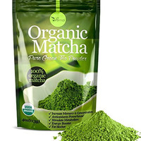 Organic Matcha Green Tea Powder USDA Organic Energy Booster Incredible Taste(4oz)