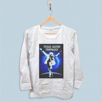 Long Sleeve T-shirt - Michael Jackson Moon Wallker