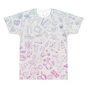 PPPI All-Over Printed T-Shirt