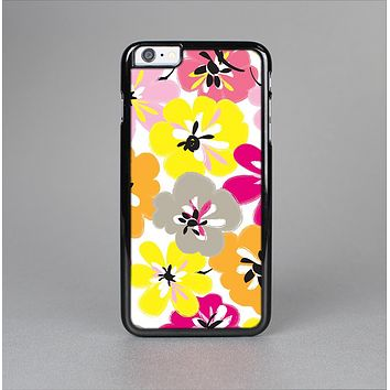 The Bright Summer Brushed Flowers  Skin-Sert Case for the Apple iPhone 6 Plus