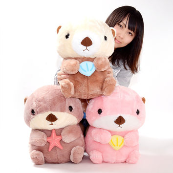 Mucchiri Rakkun Plushies (Big)