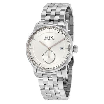 Mido Baroncelli II Automatic Silver Dial Stainless Steel Watch M86084101