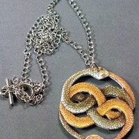 Auryn from The Neverending Story Necklace by aurora21112 on Etsy