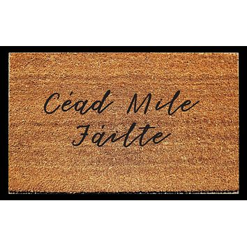 Cead Mile Failte (A Hundred Thousand Welcomes) Doormat