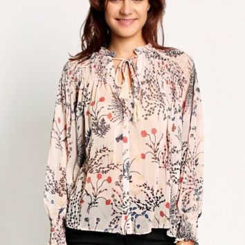 Prairie Winds Printed Blouse