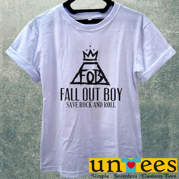 Fall Out Boy Save Rock and Roll Women T Shirt