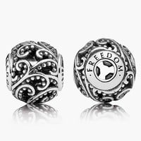 Women's PANDORA 'Essence - Freedom' Bead Charm - Sterling Silver