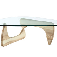 Montecito Triangle Coffee Table NATURAL