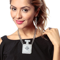 Number 1 Rich Perfume Necklace Set