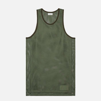 2 Layer Basketball Jersey / Olive