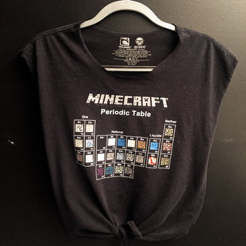 Minecraft crop top