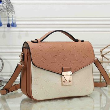 *Louis Vuitton* Crossbody Satchel  Women Shoulder Bag Handbag