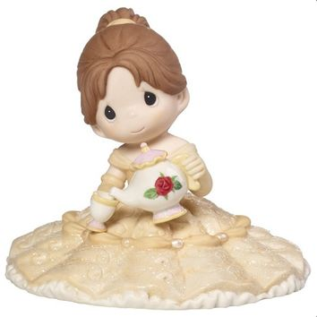 "Precious Moments ""You're My Missing Piece"", Disney Belle Figurine/Cake Topper,"
