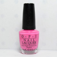 OPI Nail Polish Lacquer two timing the zones NLF80