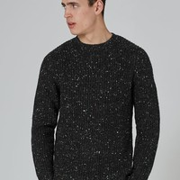 Premium Charcoal Grey Fishman Sweater - New Arrivals - New In