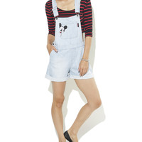 Peek-A-Boo Mickey Shortall  | Shop Just Arrived at Wet Seal