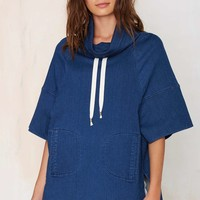 Always on Time Denim Tunic